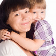 Mom with daughter — Stock Photo #6282725