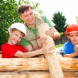 Good family constructing — Stock Photo #6283054