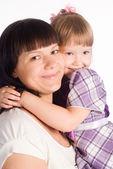 Madre con hija — Foto de Stock