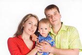 Bel ritratto di famiglia — Foto Stock
