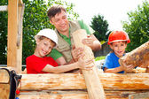 Good family constructing — Stock Photo