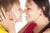 Madre con hijo — Foto de Stock