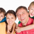 Happy family portrait — Stock Photo #6457242