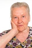歳の女性の肖像画 — ストック写真