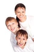 Family of a three — Stock Photo