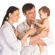 Family and doctor — Stock Photo #6579247