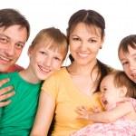 Pretty family portrait — Stock Photo #6681749