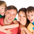 Color family portrait — Stock Photo #6681782