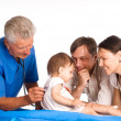 Family and doctor — Stock Photo #6682090