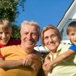 Boys and grandparents — Stock Photo #6682516