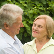 Old couple at nature — Stock Photo #6740691
