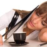 Nice girl sleeping — Stock Photo #6741534