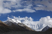 Tibet: mount everest — Stock Photo