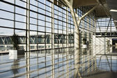Shanghai: pudong international airport — Stock Photo