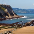 Постер, плакат: Itzurun beach at BAsque Country