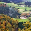 Stock Photo: Country side at Euskadi