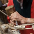 Stock Photo: Wood craftsman