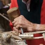 Wood craftsman — Stock Photo