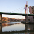 Stock Photo: LSalve bridge at dusk