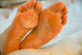 Pieds relax — Photo