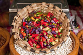 Colorful chilies — Stock Photo