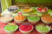 Fruit pastilles — Stock Photo