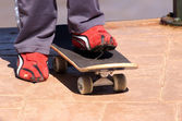 Zapatos skaterpatenci ayakkabı — Stok fotoğraf