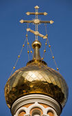 Orthodox church dome — Stock Photo