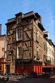 Old breton pavement cafe — Stock Photo