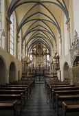 German church indoor — Stock Photo