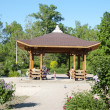 Stock Photo: Gazebo in garden