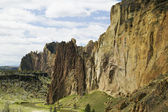 Smith rock state park, em oregon eua, fotografia natureza — Foto Stock