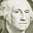 Stock Photo: Likeness of George Washington on one dollar bill