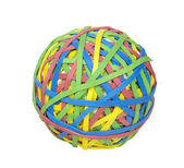 Ball of Rubber Bands - Photo Object — Stock Photo