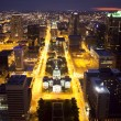 Stock Photo: Downtown St. Louis Skyline at Night