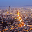 Downtown San Francisco at Dusk — Stock Photo