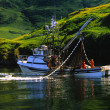 Commercial Salmon fishing — Stock Photo #5844648