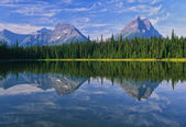 Wilderness Mountain Lake Scenic — Stock Photo