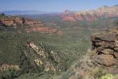 Sedona Arizona Overview — Stock Photo