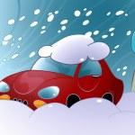 Snow Drift — Stock Vector