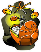 Halloween Lullaby — Stockvector