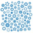 Snow Flakes - Stock Vector