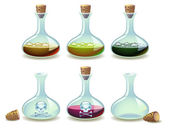 Potions — Vector de stock