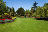 цветочный сад — Стоковое фото