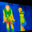 Thermal Image — Stockfoto