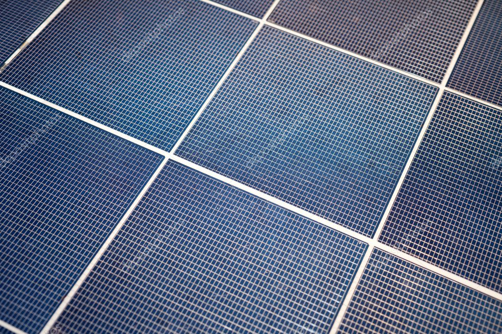 Solar-cell panel for background — Stock Photo #5753834