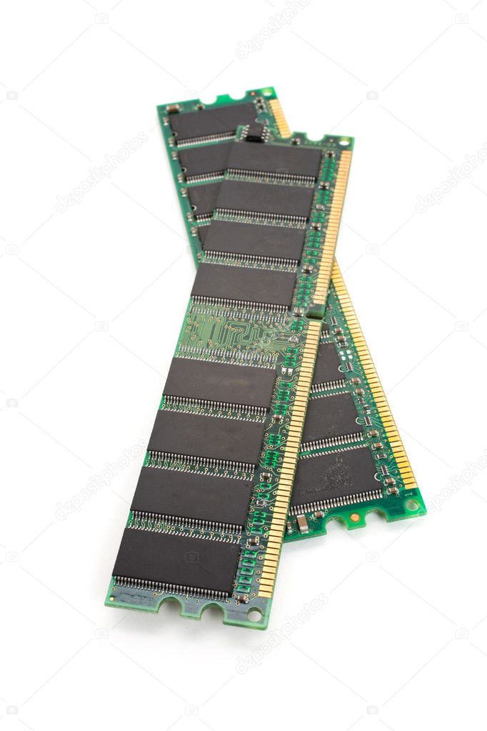 Random Access Memory close up  Stock Photo #5753892