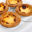 Egg Tart - Stock Photo
