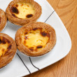 Egg Tart — Stockfoto