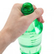Green Water Bottle — Stock Photo